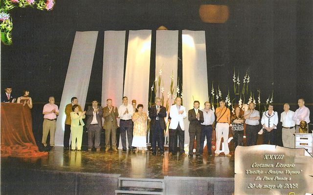 Entrega premios XXXIII Certamen